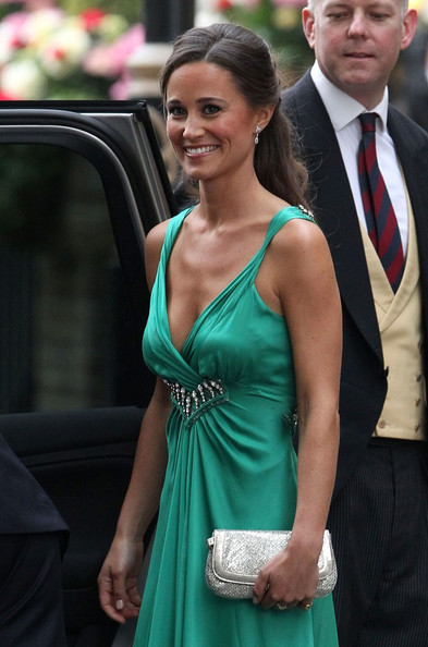 Lusting after: Pippa Middleton's Jimmy Choo Zeta clutch