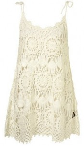 Topshop Crochet dress