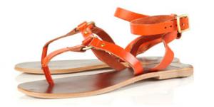 Topshop Orange sandals