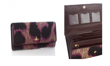 Lunchtime buy: Vivienne Westwood Rosa travel wallet