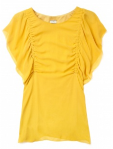 Malene Birger dijon yellow top