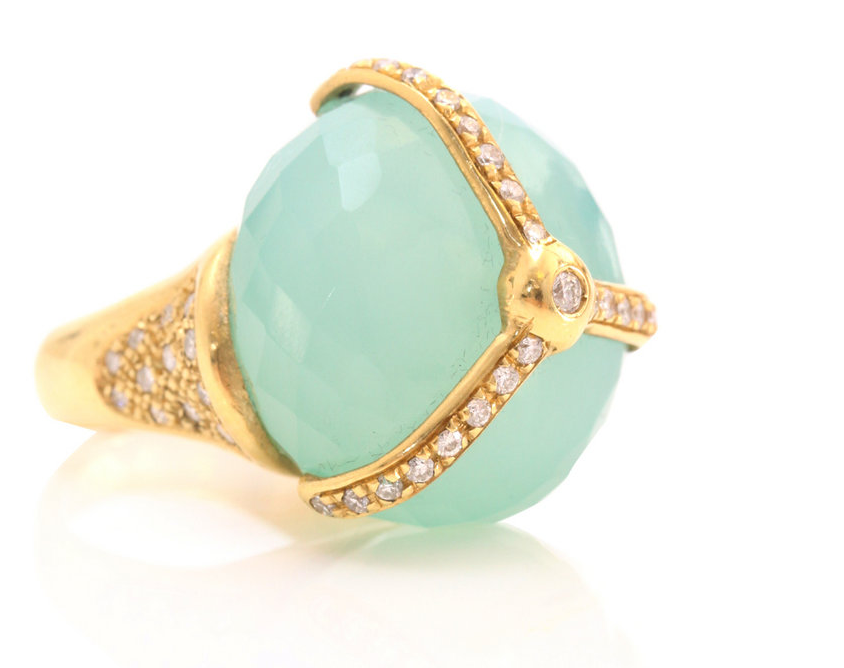 Lunchtime buy: Juicy Couture cocktail ring