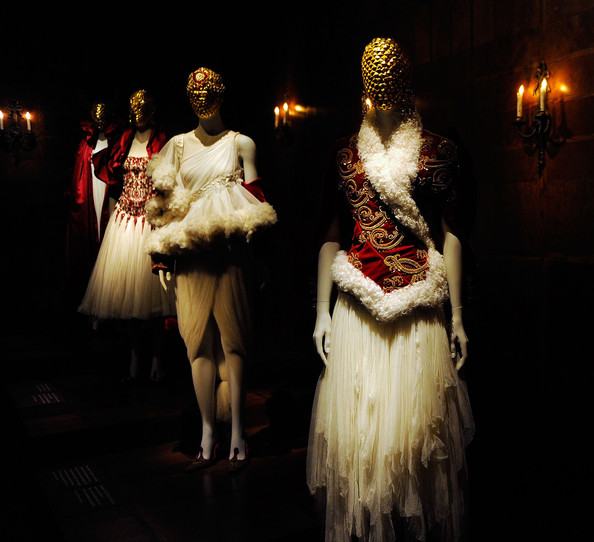 Behind the scenes look at McQueen Retrospective at the Metropolitan Museum of Art