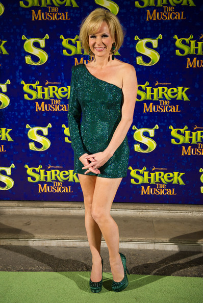 Amanda Holden is no ogre at Shrek the Musical premier