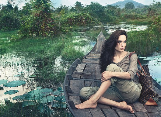 Top stories this week: Angelina's Vuitton campaign, Emma Watson's US Vogue cover, Lady Gaga's Edge of Glory video and MORE!