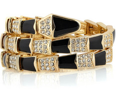 Lunchtime buy: Kenneth Jay Lane embellished bracelet
