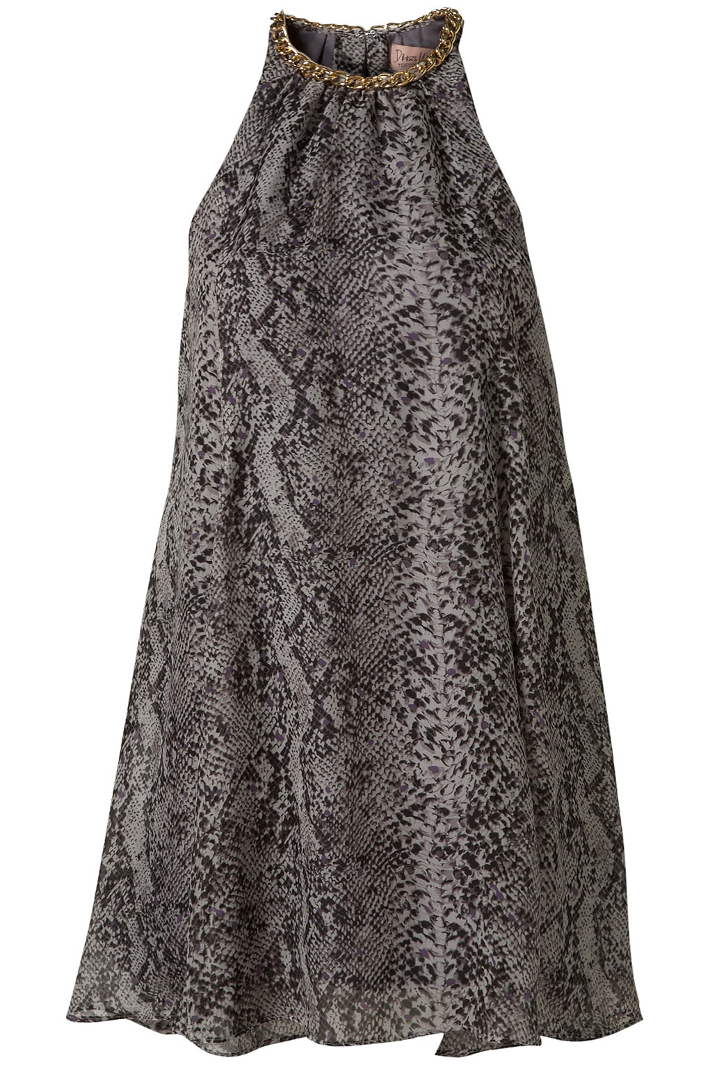 Deal of the day: Topshop grey snake print dress