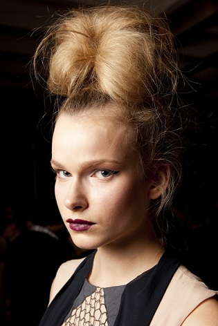 Bora Aksu at London Fashion Week SS11, hair by TONI&GUY.