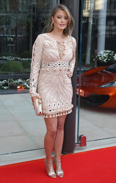 Holly Valance goes glam in a £4,335 Pucci dress