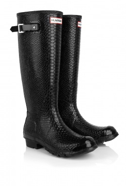 Love or Hate: Hunter Carnaby boa snake wellies