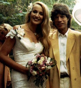 Jerry Hall wedding