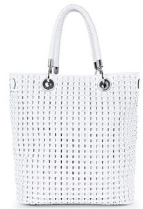 Karen Millen Large Basket Bag, £265, Shopstyle