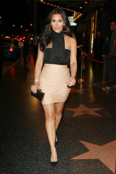 Kim Kardashian's killer curves in YSL