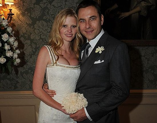 Lara Stone wedding