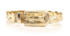 MSGM gold belt
