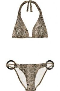 Melissa Odabash snakeskin bikini