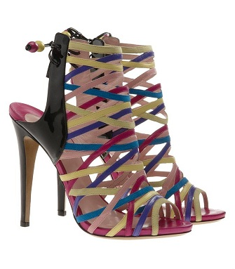 Love or Hate: Sophia Grace multi-coloured strappy heels
