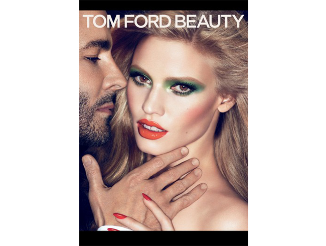 Tom Ford launches new skincare line, Lara Stone breaks CK exclusive to front it