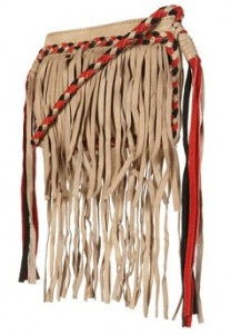 Topshop fringed bag