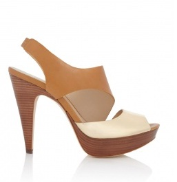Sale Pick: Michael Kors Stacked Platform Peeptoe