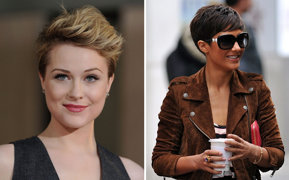Evan Rachel Wood gets punky with a pixie crop!