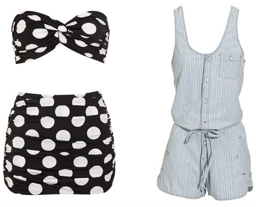 Three beach-ready looks to match your sea style icon