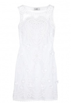 Get the look: Katy Perry's white embroidered lace dress