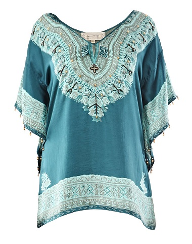 Lunchtime buy: Beyond Vintage Charmeuse silk top