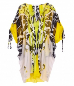 DVF bright kaftan