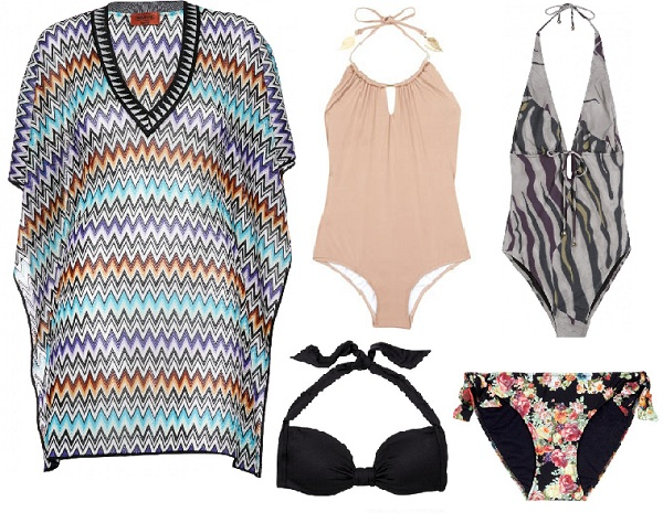 Beachwear for your body shape: Inverted triangle