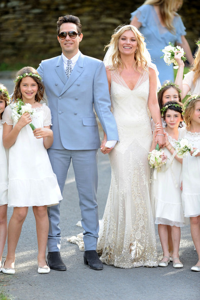 Kate Moss's wedding: in pictures
