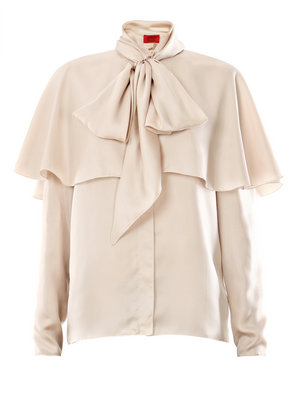 Lusting after Lanvin's silk twill blouse