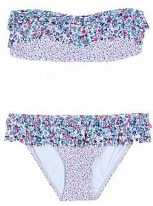 Marc Jacobs ruffle bandeau bikini