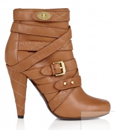 Chic Shoegasms: Mulberry Postmans Lock ankle boots