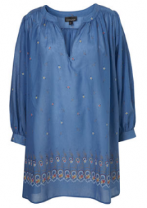 Topshop smock coverup