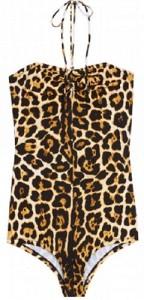 YSL Leopard Print Swimsuit £253