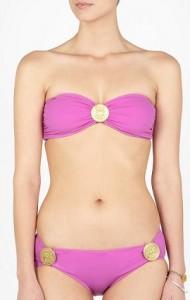 Zimmermann Purl Medallion Bandeau Bikini £70