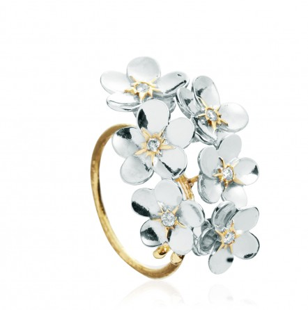 Accessory Adventures: Alex Monroe Forget Me Not ring