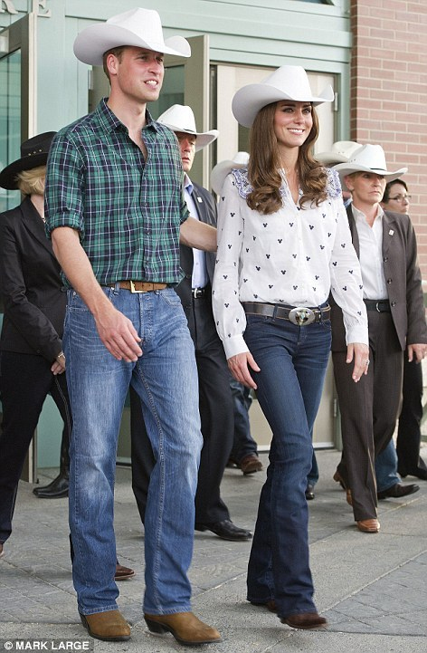 Get The Look: Kate Middleton in Bootcut jeans