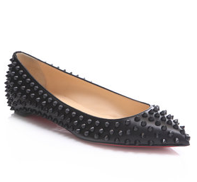 Chic Shoegasms: Christian Louboutin Pigalle leather flats
