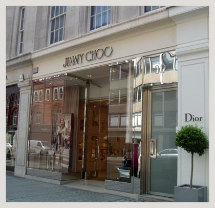Jimmy Choo Bond Street store has been robbed