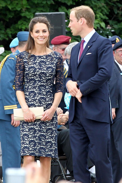 Kate Middleton changed outfits on the plane to Canada