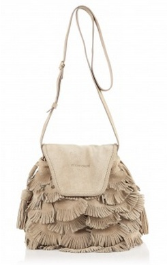Handbag Hunter: See by Chloe Tea suede fringed bag