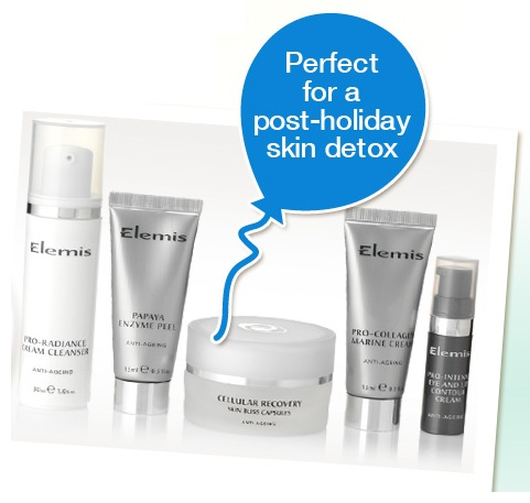 Receive a free anti-ageing detox regime worth £70 when you spend £70 at Elemis!