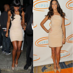 Who wore it best? Kelly Rowland vs Terri Seymour in Aurelio Costarella