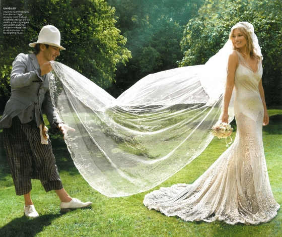 "Galliano on Kate Moss: ""She dared me to be John Galliano again"""
