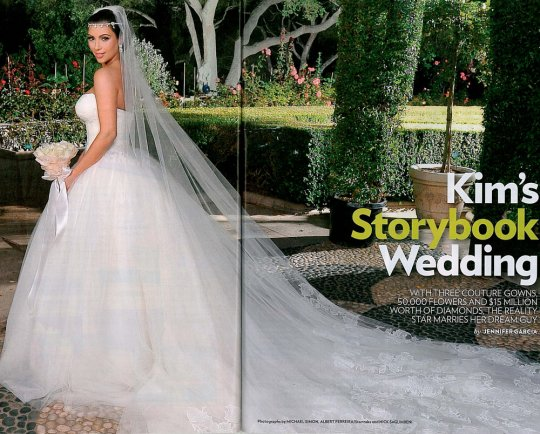 SEE all three of Kim Kardashian's wedding dresses, plus more pics from the ceremony!