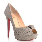 Chic Shoegasms: Christian Louboutin Greissimo peep toe pumps