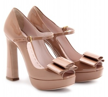 Chic Shoegasms: Miu Miu's gorgeous Mary Janes