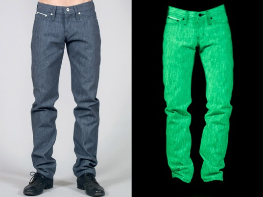 Glow in the dark denim: do you dare?